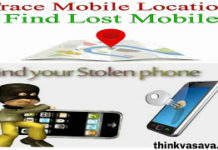 find lost and stolen phone