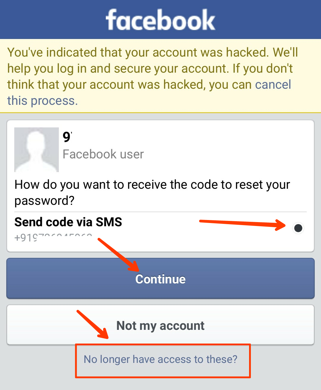 How to recover Facebook account in hindi