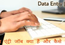 Data entry job Kya Hai or kaise kare