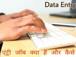 Data entry job Kya Hai or kaise kare