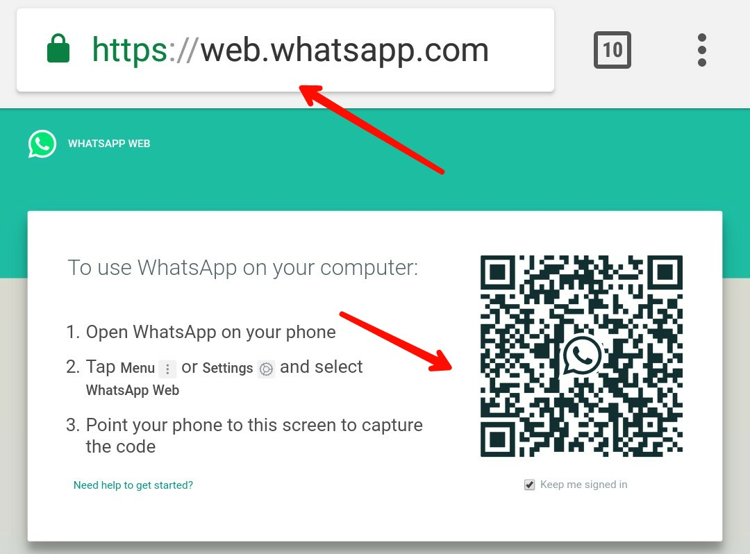 Qr code scan karke Whatsapp hack