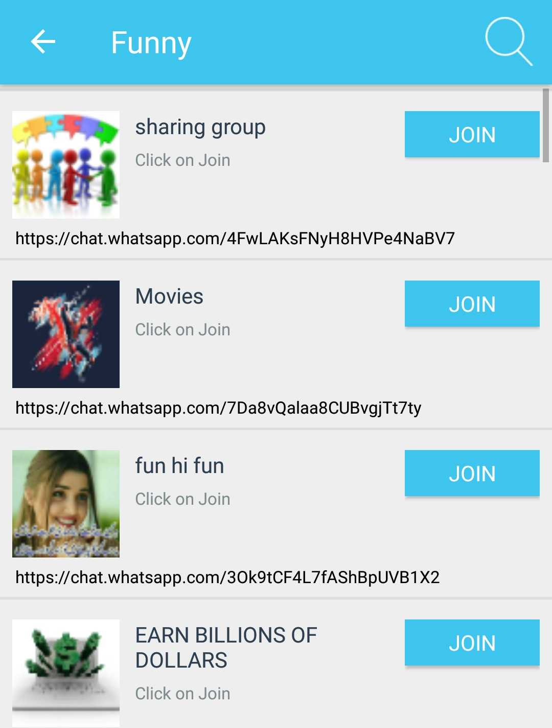unlimited whatsapp group join kare