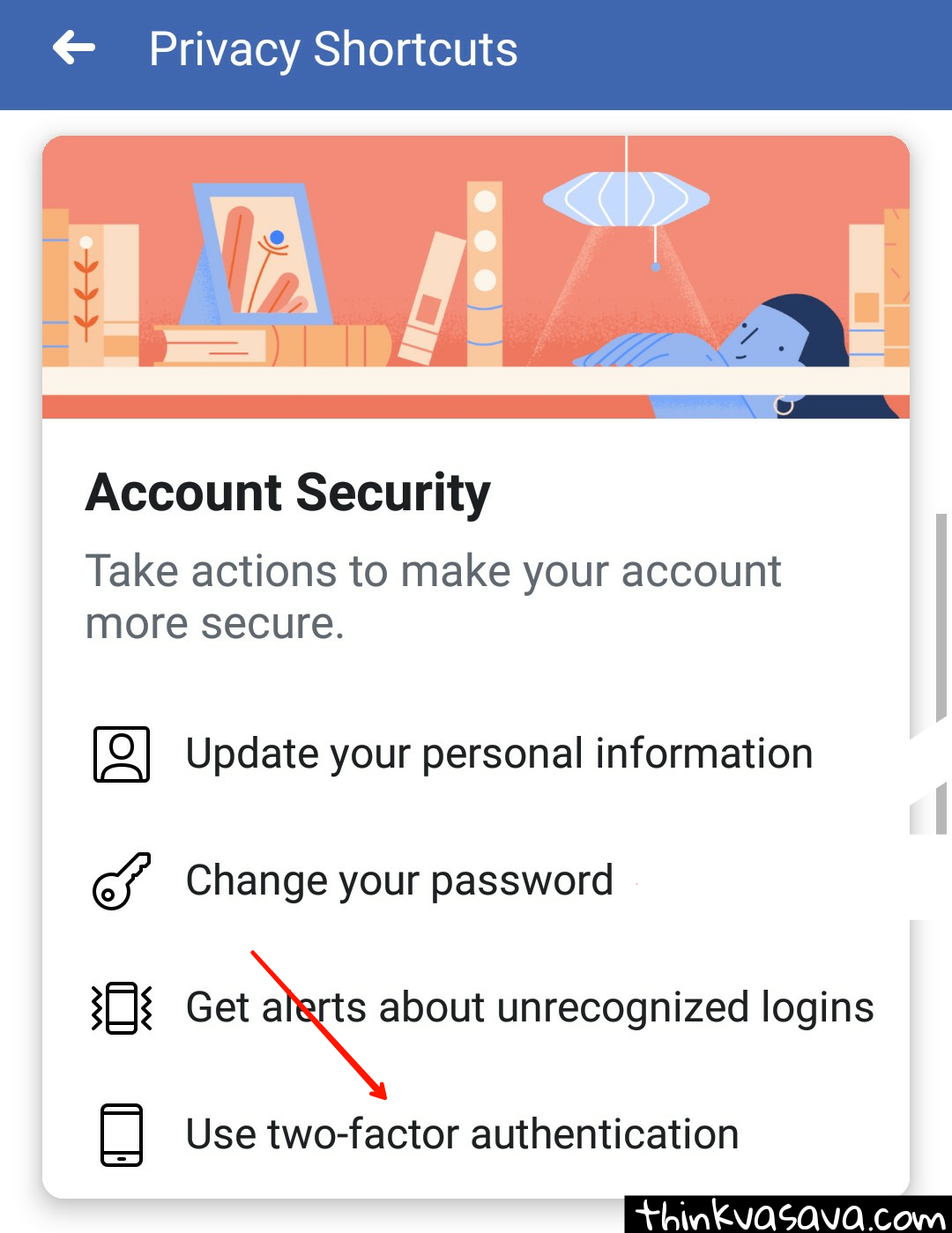 Facebook two factor authentication Hindi