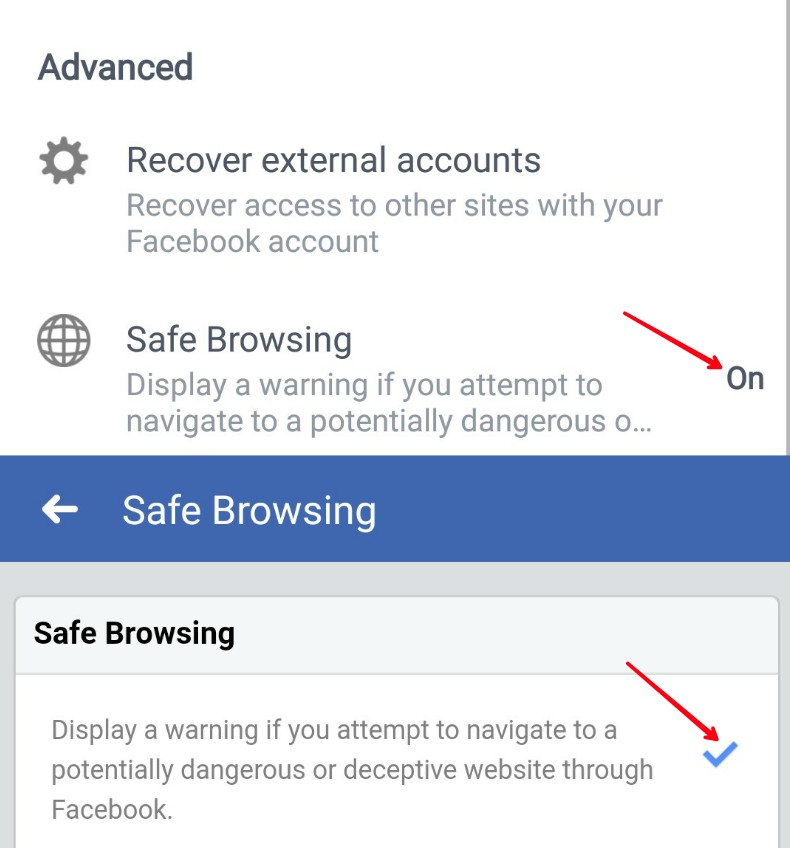 Facebook privacy safe browsing tip in hindi